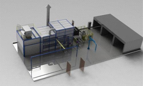 某大型结构件智能喷涂生产线应用实施