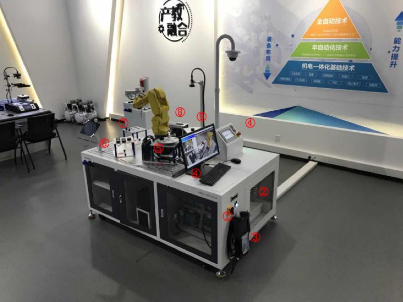 工業機器人技能考核工作站